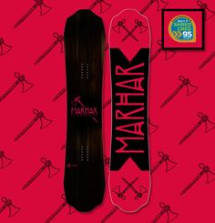 Lumberjack - Mens All Terrain Powder Freestyle Snowboard.  The Lumberjack, new for 2016/17, is a versatile weapon with its super wide waist that is designed for destroying powder. Whether you're riding wide open alpine bowls or tight tree runs this board will rip a hard turn with ease in fresh snow or a groomer.