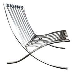 Early Ludwig Mies Van Der Rohe Barcelona Chair