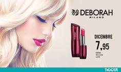 #rossetto #lipstick #deborah #offerte #dicembre #tigotà