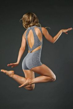 Gisele Uni | Jo+Jax Dancewear | Easy entry zipper front provides adjustable styling option | Uniquely styled back design provides a fashionable way to stay cool | Jo+Jax Dancewear & Activewear | Unitard | $72.00