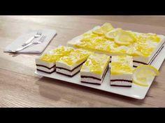 Citrónové rezy so smotanovým syrom - YouTube Food Videos, Waffles, Lemon, Dairy, Cheese, Breakfast, Recipes, Advent, Youtube