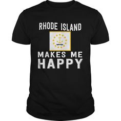 Get yours beautiful Rhode Island Makes Me Happy Best Gift Shirts & Hoodies.  #gift, #idea, #photo, #image, #hoodie, #shirt, #christmas