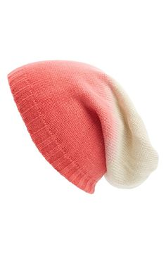 Ombré Slouchy Knit Beanie - I am not really ready for beanie weather, but this will make me a little happier when it comes!