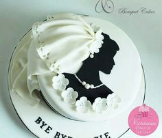 Discover thousands of images about Tania Desserts Ideas Unique Cakes, Creative Cakes, Gorgeous Cakes, Amazing Cakes, Fondant Cakes, Cupcake Cakes, Wedding Shower Cakes, Wedding Cake, Silhouette Cake