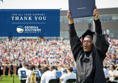 The President's Report: Georgia Southern University- WMBA & Graduate Programs highlighted under Academics