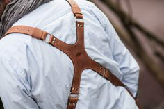 74street Photographer Leather harness, Dual camera photographer strap, photographer gear
