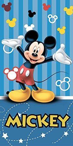 Mickey Mouse Blue Stripe Beach Towel 100% Cotton By BestT... https://www.amazon.co.uk/dp/B01FRKPE76/ref=cm_sw_r_pi_dp_tTzrxbDDCTHFV