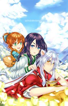 Inuyasha: Four Seasons by Aeirus on deviantART