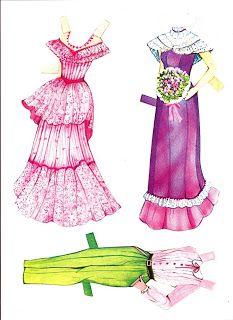 Kathleen Taylor's Dakota Dreams: Thursday Tab- Golden, Paper Doll Playbook, Best Friends,1837-44, 1983, Part 1