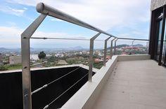 Barandilla de cable en acero inoxidable. Tenerife