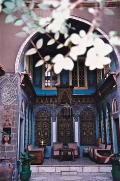 Beit 3arabi (Old Style Arab Houses) Damascus, Syria