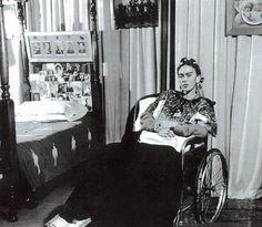 Por Lola Alvarez Bravo 1953, Frida despues de la amputación de su pierna