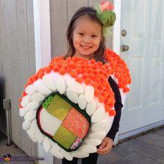 DIY Sushi Costume