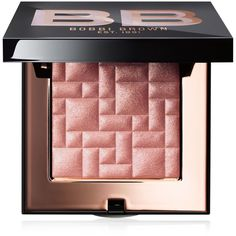 Bobbi Brown Highlighting Powder ($46) ❤ liked on Polyvore featuring beauty products, makeup, face makeup, face powder, sunset glow, highlight face makeup and bobbi brown cosmetics