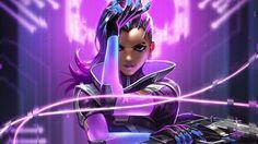 Overwatch Sombra Game Art Wallpaper