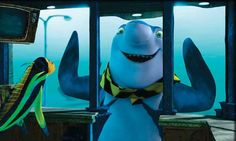 Sebastian the whale washing dolphin! Love this movie. Shark Tale, Series Movies, Tv Series, Animated Cartoons, Beetlejuice, Animation Series, Stop Motion, Dreamworks, Dolphins