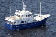 2014 Aluship Vripack Trawler Explorer Vessel 79 Power Boat For Sale - Trawler Yachts For Sale, Trawler Boats, Trawlers For Sale, Explorer Yacht, Power Boats For Sale, Fishing Boats, Kayak Fishing, Cabin Cruiser, Boat Projects
