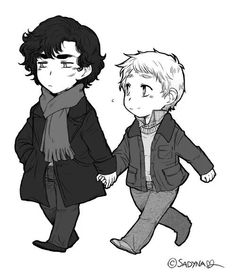 fluffy johnlock sherlock - photo #2