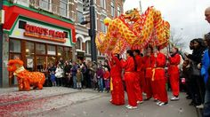 Rotterdam/Chinese New Year 5 febr./ year of the Horse. 2014