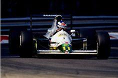 Mika Hakkinen Lotus - Judd 1991