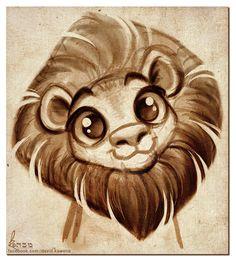 Dessin de lion!