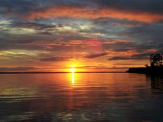 Sunset in September on the Pamlico River
