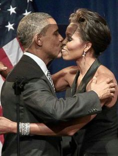 President Barak Obama & 1st Lady Michelle Obama...