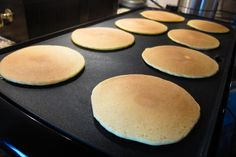 Golden Delight Pancakes (VERY low-carb): 1 c. cottage cheese 1/2 c. almond flour (I prefer Bob's Red Mill because it's finely ground) 6 eggs 1/2t. baking powder Blend well in blender. Pour on griddle & cook at 300 degrees. I like to top them with butter & whipped cream for a low-carb topping.