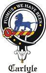 Carlyle Clan Crest Badge from www.4crests.com #clan #crests # badges #clans #scottish #scotland #family #badge #crest #tartan #kilt #genealogy #heraldry #family