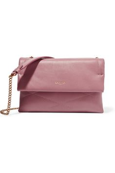 Pink leather (Lamb) Snap-fastening front flap Designer color: Medium Pink Comes with dust bag Weighs approximately 1.8lbs/ 0.8kg…