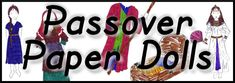 Messianic Education Trust's Kids' Website - Pesach - Paper Dolls