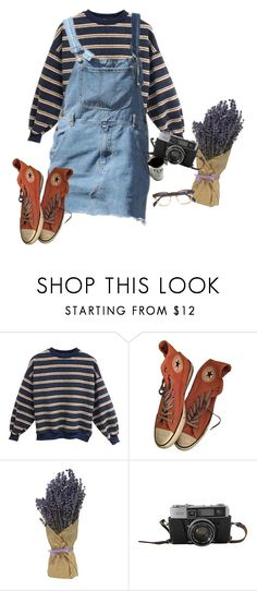 """""""spring day"""" by duderanch ❤ liked on Polyvore featuring Converse, indie, Punk, grunge, art and aesthetic"""