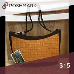 Basket of Cambodia amber colored shoulder bag. NWT Very stylish shoulder bag. Great Fall color. Keep for yourself or give as a gift. Awesome price! Baskets of Cambodia Bags Shoulder Bags