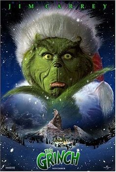 How the Grinch Stole Christmas.......dinner with myself, I can't cancel that again.......