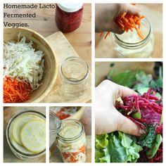 How to Make Homemade Vegan Lacto Fermented Veggies | The Full Helping