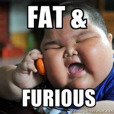 Fat Asian Kid