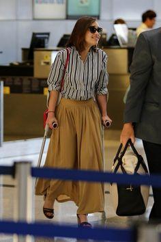 Emilia Clarke Photos Photos - Emilia Clarke is seen at LAX. - Emilia Clarke is seen at LAX
