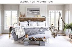Cozy coastal bedroom ready to keep you warm during the cold nights - Modern Bedroom Modern Master Bedroom, Farmhouse Master Bedroom, Trendy Bedroom, Home Bedroom, Bedroom Decor, Bedroom Ideas, Bedroom Designs, Bedroom Rustic, Bedroom Inspiration