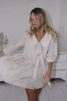 Talana dress by Minna Hepburn, a Finnish fashion designer based in UK, Finland