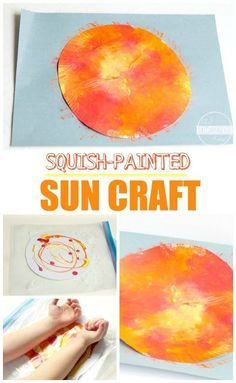 Summer Crafts For Kids, Crafts For Kids To Make, Projects For Kids, Summer Crafts For Preschoolers, Outer Space Crafts For Kids, Art Projects, Summer Diy, Space Theme For Toddlers, Kids Crafts