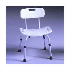 Silla Samba. Silla especialmente diseñada para facilitar el higiene en la ducha. El asiento tiene pequeños orificios para faciliar el desagüe, asi como unas asideras integradas en el mismo asiento para ofrecer mayor seguridad al usuario.