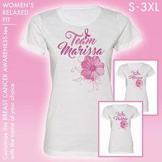 CUSTOM Breast Cancer Awareness Team Tee ** Save the Tatas ** Hooters ** Boobies #breastcancerawareness #breast #cancer #awareness #boobies #tatas #hooters #pink #ribbon #october #team #walk #5k