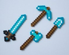 Do you have a favourite Minecraft parody? Or are you looking to discover more great Minecraft parodies? Thanks to Minecraft's popularity there are no shortage of song parodies available. Minecraft has some of the best song parodies I have ever. Minecraft Hama, Minecraft Crafts, Minecraft Iron, Minecraft Stuff, Melty Bead Patterns, Beading Tools, Peler Beads, Iron Beads, Melting Beads
