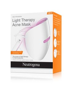 10 Game-Changing Beauty Products That Made 2016 Better - Neutrogena Light Therapy Acne Mask from InStyle.com
