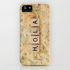 Hola iPhone Case by Christine Hall - $35.00
