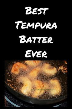 this is the best Tempura batter ever for seafood or vegetables! asian tempura batter is a light batter for vegetables seafood fish fried cooking recipe via Cookin Italian Style Cuisine Healthy Recipes, Fish Recipes, Seafood Recipes, Asian Recipes, Gourmet Recipes, Appetizer Recipes, Cooking Recipes, Appetizers, Gourmet Desserts