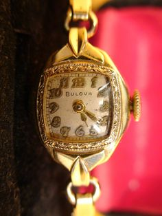 ANTIQUE 1940s BULOVA SWISS VINTAGE LADIES 10K GOLD FILLED WATCH SERVICED WORKS | eBay  $140  AAB