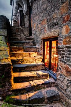 Inviting Glow, Old House in Conwy, North Wales...loved Conwy