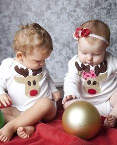 matching reindeer shirts