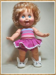 Galoob baby Face Doll #10 so Playful Penny, near mint condition   #galoob #Dolls